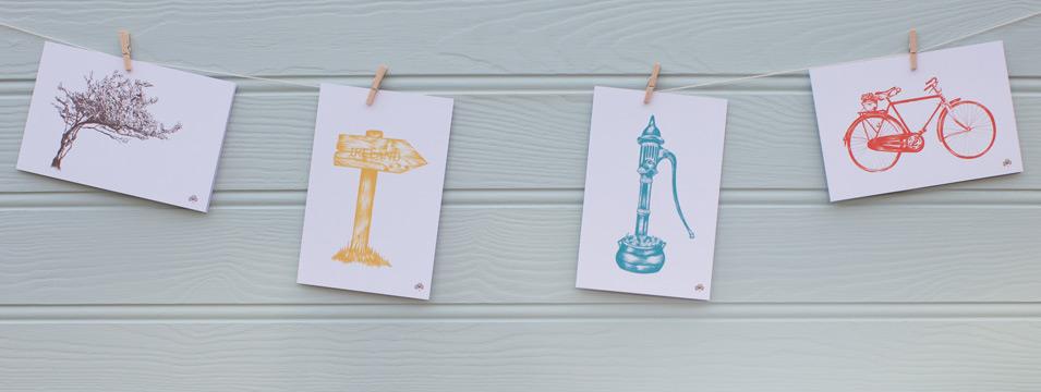 Simple Irish made cards