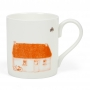 Irish Mugs, Thatched Irish Cottage