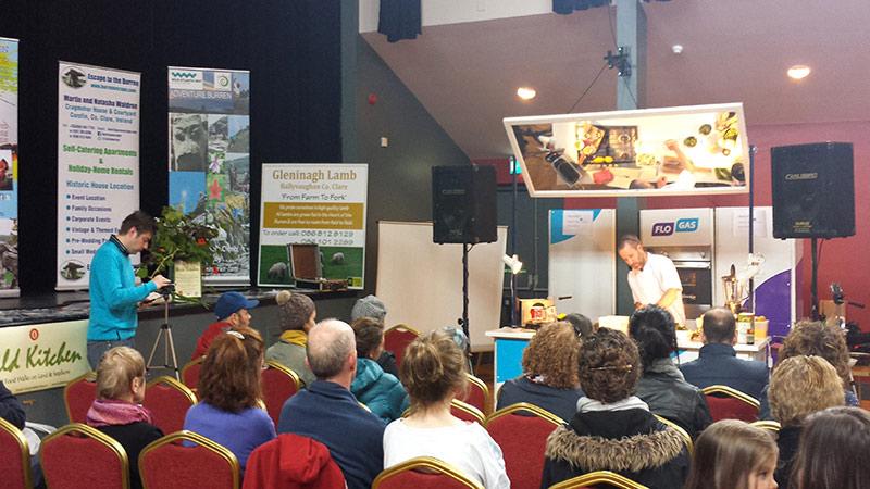 Kai Gallway Demo - Burren Slow Food Festival
