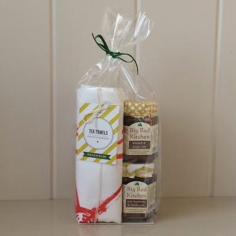 Irish Tea Towel Jam Gift Set