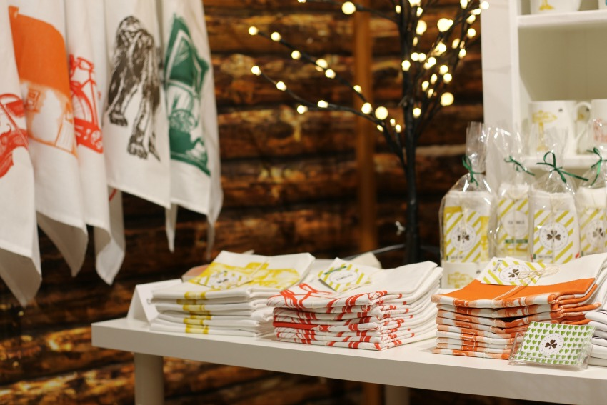 Irish made tea towels