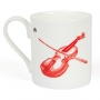 Irish Fiddle Fine Bone China Mug