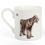 Irish Wolfhound Fine Bone China Mug